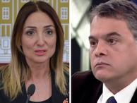 Talat Atilla ile Aylin Nazlıaka'nın haber düellosu