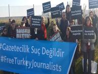 Tutuklu gazeteciler için Silivri'de yapılacak açıklamaya valilik engeli