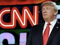 CNN Trump'ın yemin töreni sırasında siyaha büründü