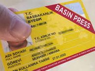 889 sarı basın kartı iptal edildi