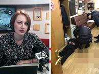 Ünlü kadın gazeteciye saldırı; boğazından bıçaklandı