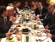 Türk gazetecilerin ABD'de Brezilya gecesi
