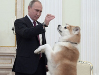 Alkışlar Vladimir Putin için
