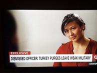 Darbeci olduğu iddia edilen asker CNN'e çıktı