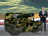 TGRT Haber stüdyosuna tank ve F16 girdi!
