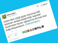 Özgecan Arslan twiti peşini bırakmıyor!