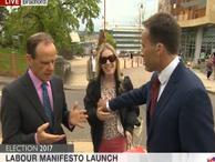 BBC muhabirinden canlı yayında şok hareket!…