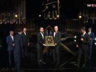 TRT'deki Kur'an Okuma yarışması finalinde Erdoğan sürprizi