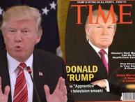 Trump kendine sahte kapak yapmış!