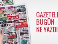 30 Eylül 2017 Cumartesi gününün gazete manşetleri