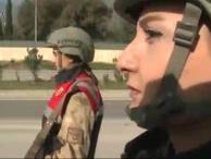 A Haber cephenin gururları kadın komutanları aileleri ile görüştürdü