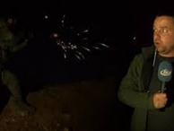 TGRT Haber ekibi Afrin'de çatışmanın ortasında kaldı