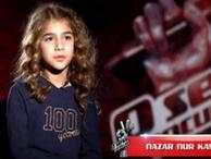 Nazar Nur'un acı haberi O Ses Türkiye ekibini yıktı