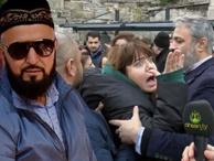 Ahsen TV muhabiri bildiri dağıttı: Kadınlar böyle tepki gösterdi!