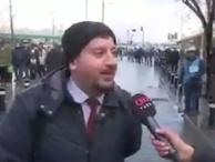 CNN Türk muhabirini gülme krizine sokan metrobüs cevabı