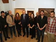 Cumhurbaşkanı Erdoğan'dan oyunculara sürpriz ziyaret