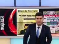 Akit TV spikeri Cumhuriyet'i tehdit etti; Sizin gibileri katletmek...