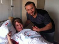 35 kilo veren ünlü sunucu hastaneye kaldırıldı