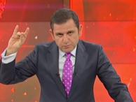 Fatih Portakal bozkurt işareti yaptı