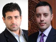 Abdurrahman Şimşek ve Nazif Karaman günün muhabiri