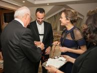 Sunucu Simge Fıstıkoğlu evliliğe ilk adımını attı