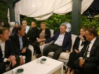 Cumhurbaşkanı Erdoğan'dan Demirören Ailesi'ne taziye ziyareti