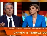 Nedim Şener ile Bülent Tezcan canlı yayında birbirine girdi!