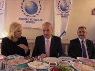 Numan Kurtulmuş Anadolu Sohbetleri'nde gazetecilerle buluştu