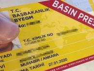 Cumhurbaşkanlığı'ndan önemli duyuru:  Basın kartları değişiyor