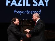 İlk Muharrem Sarıkaya duyurmuştu! Cumhurbaşkanı Erdoğan, Fazıl Say konserinde