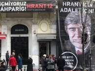 Hrant Dink, 12 yıl önce vurulduğu yerde anılıyor