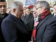 Binali Yıldırım Seyyid Tahir Özışık'ın cenaze törenine katıldı