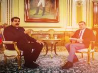 Maduro röportajı Cüneyt Özdemir'i de şaşırttı!
