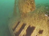 TRT belgesel çekerken buldu! Tarihi denizaltı