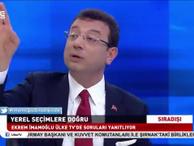 Ekrem İmamoğlu'ndan Turgay Güler'e gönderme: Beni kesen yayıncının ...