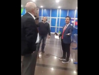 Mahmut Tanal, A Haber muhabiriyle tartıştı