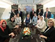 Ahmet Hakan 'Asla binmeyeceğim' dediği Erdoğan'ın uçağına bindi