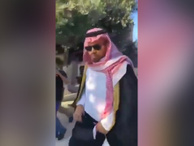 Suudi Arabistanlı gazeteciye Mescid-i Aksa'da tepki