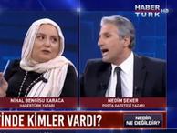 Habertürk'te Ergenekon tartışması tansiyonu yükseltti