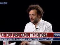 Erdil Yaşaroğlu 'Son yıllarda Türkiye'de karikatür dergilerini en çok polisler okuyor'