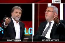 Tarafsız Bölge'de Gürsel Tekin ile Mehmet Metiner'in gergin anları