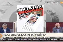 Erdoğan'a diktatör diyen Bild Yöneticisi Hürriyet'in üyesiymiş!