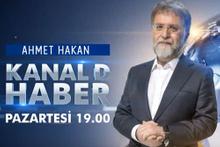 Ahmet Hakan Kanal D'de göründü