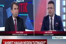 Cem Küçük: Ahmet Hakan'ı yakında yayından çekerler