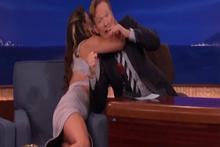 Şovmen Conan O'Brien'ı zor anları...