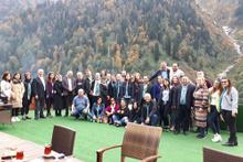 Yerli ve yabancı gazeteciler Karadeniz'de buluştu