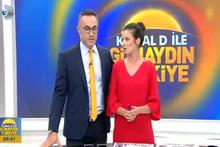 Kanal D Sabah haberlerinde şok ayrılık