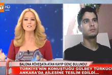 Balona röveşata atan Gülbey Türkücü'yü Müge Anlı buldu