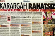 Hürriyet'in Ergenekon kafasıyla attığı manşete tepki dinmiyor