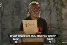 Survivor'da Tarık Mengüç'ten güldüren cevap!